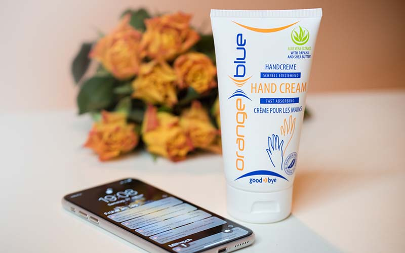Hand care from orangeblue - Unique care, quickly absorbed